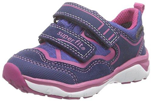 Superfit SPORT5 Mini 600242 Mädchen Sneaker Blau (INDIGO KOMBI 88)
