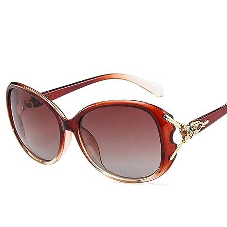 W.H.Y Gafas de Gran tamaño para Mujer Gafas de Sol ...