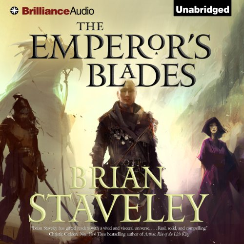 The Emperor's Blades: Chronicle of the Unhewn Throne, Book 1 cover