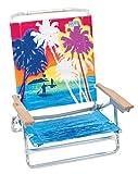 #9: Rio Beach Classic 5 Position Lay Flat Folding Beach Chair