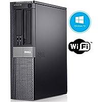 Dell Optiplex 980 Desktop PC - Intel Core i5-650 3.2GHz 8GB DDR3 RAM 128GB SSD DVDROM Windows 10 Pro (Certified Refurbished)