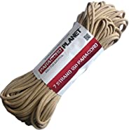 PARACORD PLANET 550-Pound Safety Type III Commercial Paracord