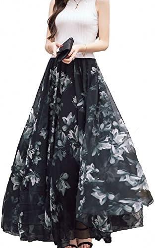 Chiffon skirts long _image1