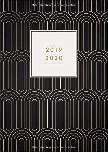 Agenda 2019 2020 Journalier: Agenda 18 mois journalier 2019 ...