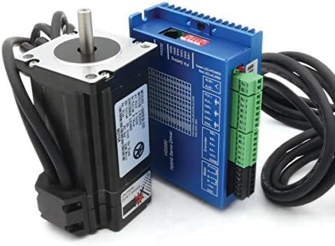 nema24 3 N.m Motor Servo Motor de ciclo cerrado 88 mm 5 A + hss60 híbrida controlador CNC Kit para CNC Router engrvaving fresadora: Amazon.es: Bricolaje y herramientas