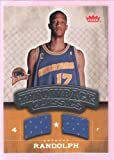 ANTHONY RANDOLPH 2008-09 FLEER THROWBACK GAME USED WORN JERSEY WARRIORS $12