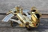 Handmade Nautical Brass Sextant 4'' inch Maritime Marine Desktop Decorative A