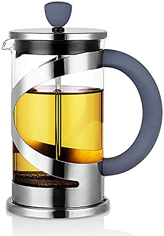 French Press Coffee/Tea Brewer Cafetera Cafetera Hervidor de Agua ...