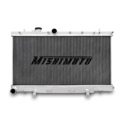 Mishimoto MMRAD-WRX-01 Manual Transmission Performance Aluminium Radiator for Subaru Impreza WRX and STI (Aluminium Radiator)