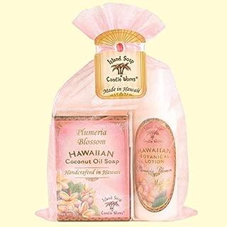 product image for Hawaiian Botanical Plumeria Blossom Organza Gift Bag