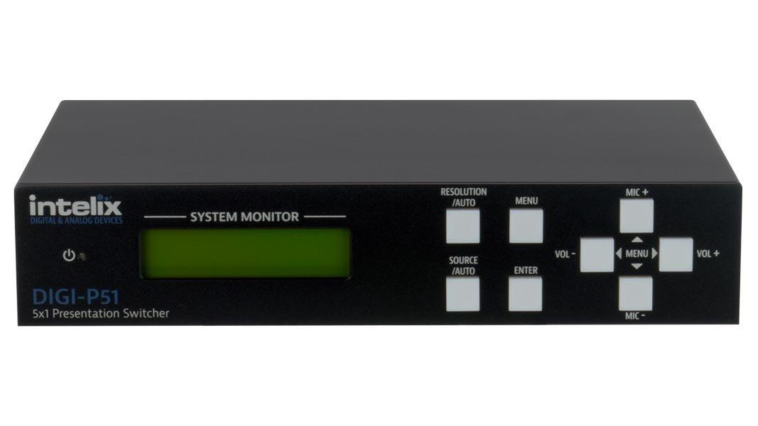 fae31c36bbec Amazon.com: Intelix Presentation Switcher/Scaler - 5 Input x 1 ...