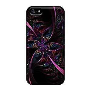 New Hard Cases Premium Iphone 5/5s Skin Cases Covers(sharp Psychedelic)