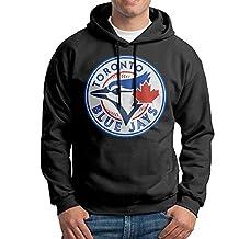 SARAH Men's Toronto Blue Jays Logo Hoodie