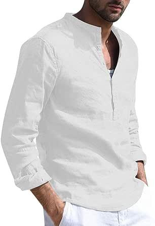 Moda Camisa Manga Corto Hombre,Camiseta Tops Hombres ...
