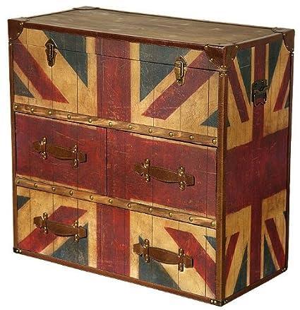 Reino Unido Campaigne wsmxdf Vintage de cajones grandes muebles de ...