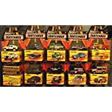 2016 Set of 10 BEST OF Matchbox Series 1:64 Scale Collectible Die Cast Metal Toy Car Models by California