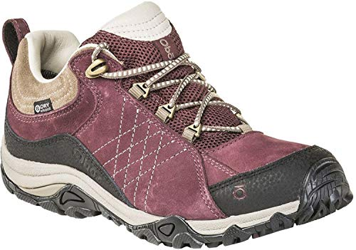 Oboz Sapphire Low B-Dry Hiking Shoe - Women's Boysenberry 8.5
