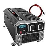 Energizer-4000-Watt-12V-Power-Inverter-Dual-110V-AC-Outlets-Automotive-Back-Up-Power-Supply-Car-InverterConverts-120-Volt-AC-with-2-USB-Ports-24A-Each