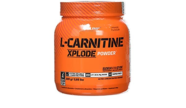 Amazon.com: Olimp L-carnitine xplode Cherry 300 g by OLIMP: Health & Personal Care