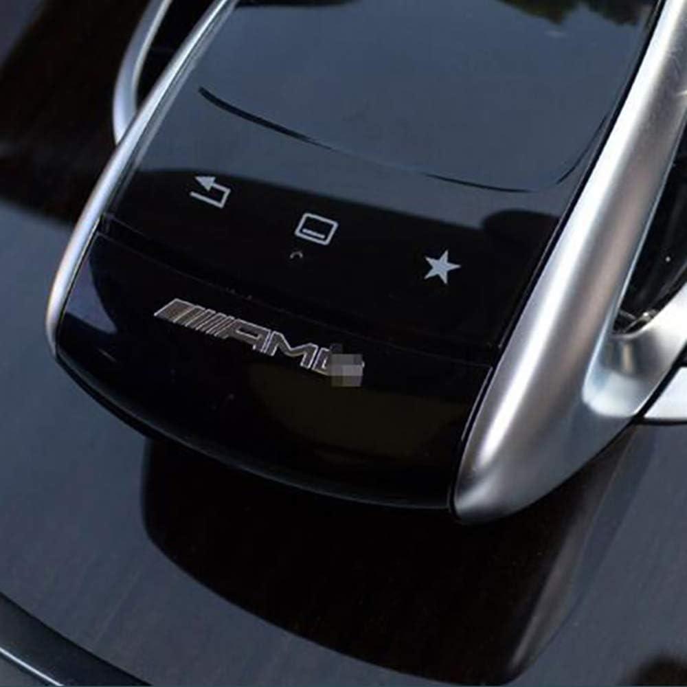 WXQYR Etiqueta engomada de la Insignia del Coche Volante del Coche Etiqueta Interior para Mercedes Benz AMG GLC GLE CLA GLA W205 W211 W213 Accesorios del Coche
