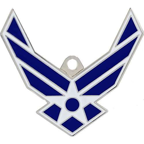 US Air Force Logo Keychain Military Key Ring Collectible Gifts Men Women Veterans by EE, Inc.