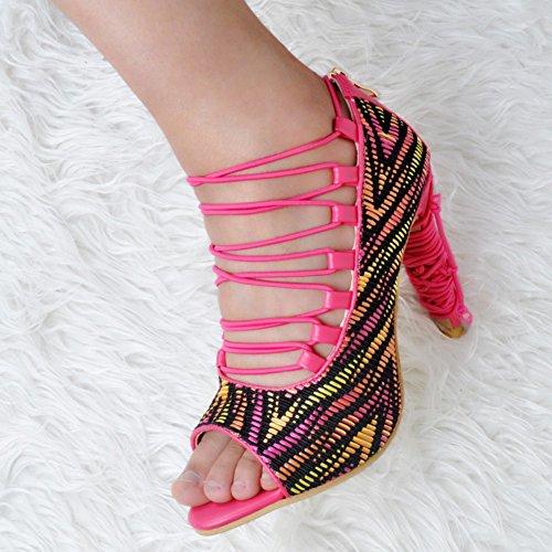 Kolnoo - Pantuflas de caña alta Mujer colores variados