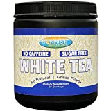 White Tea Prebiotic Powder for Gut and Digestive Support - Promotes Healthy Metabolism and Good Bacteria Growth - Natural Grape Flavor (30 Servings)