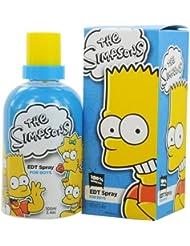 Twentieth Century Fox Eau de Toilette Spray for Boys and Kids, The Simpsons, 3.4 Ounce
