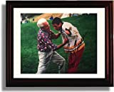 Framed Adam Sandler and Bob Barker Autograph Replica Print - Happy Gilmore