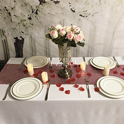 YZEO lentejuelas centro de mesa para boda fiesta evento hogar ...