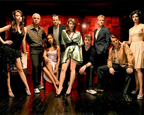 Serenity Firefly Cast Nathan Fillion, Gina Torres, Alan Tudyk, Morena Baccarin, Adam Baldwin, Jewel Staite, Summer Glau, Ron Glass Posing Looking Dapper 8 x 10 Inch Photo
