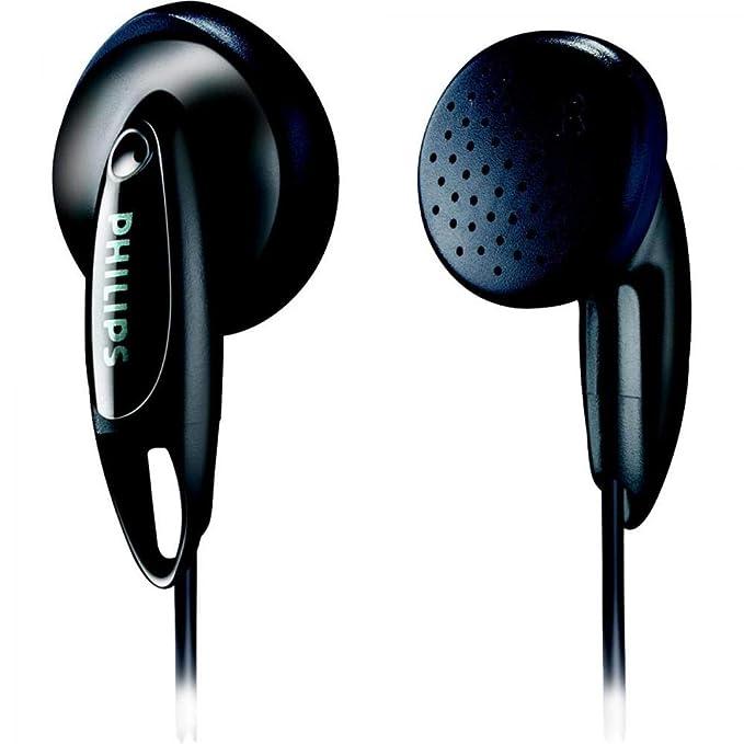 Renewed  Philips SHE1350 in Ear Headphones  Black  In Ear