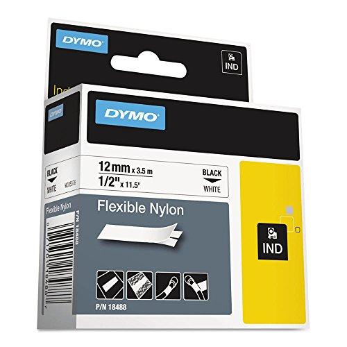 Dymo Rhino 1000 Flexible Nylon Label Tape, 1/2