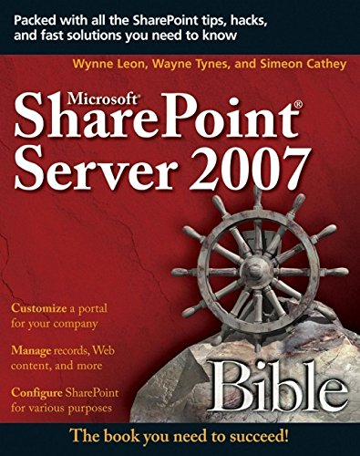 Microsoft SharePoint Server 2007 Bible
