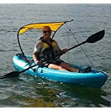 WindPaddle Sails Sun Shade for Kayaks and Canoes Sup's and Inflatables, Gold, Large