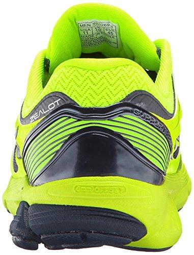 Saucony-Mens-Zealot-ISO-Running-Shoe-CitronNavy10-M-US