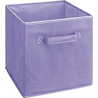 ClosetMaid  5878 Cubeicals Fabric Drawer, Light Purple