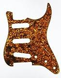 D'Andrea Strat Pickguards for Electric Guitar, Orange Pearl