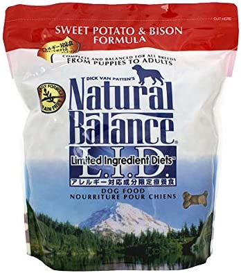 Natural Balance Sweet Potato And Bison Formula Dog Food