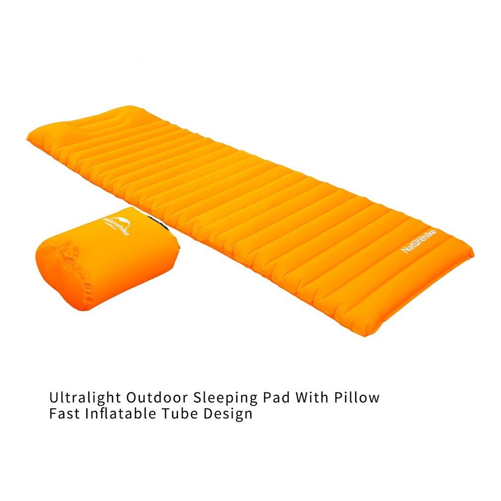 Naturehike Aufblasbar Luftmatratze mit Kissen Zelt Matratze Camping Airbed Mattress Outdoor Moisture-proof Pad