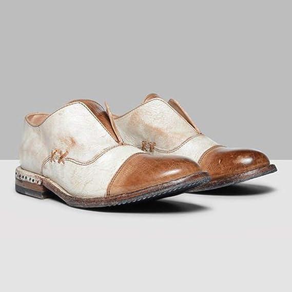 Btruely Zapatos de Mujer❤️Zapatos Retros de Moda Mujer Zapatillas Plana Zapatos de tacón bajo Cabeza Redonda Boca Baja Botas Cortas: Amazon.es: Deportes y ...