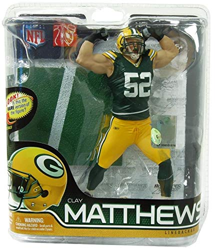 McFarlane NFL Series 28 CLAY MATTHEWS - Green Bay Packers