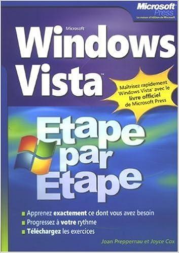 Lire en ligne Windows Vista Etape par Etape pdf epub