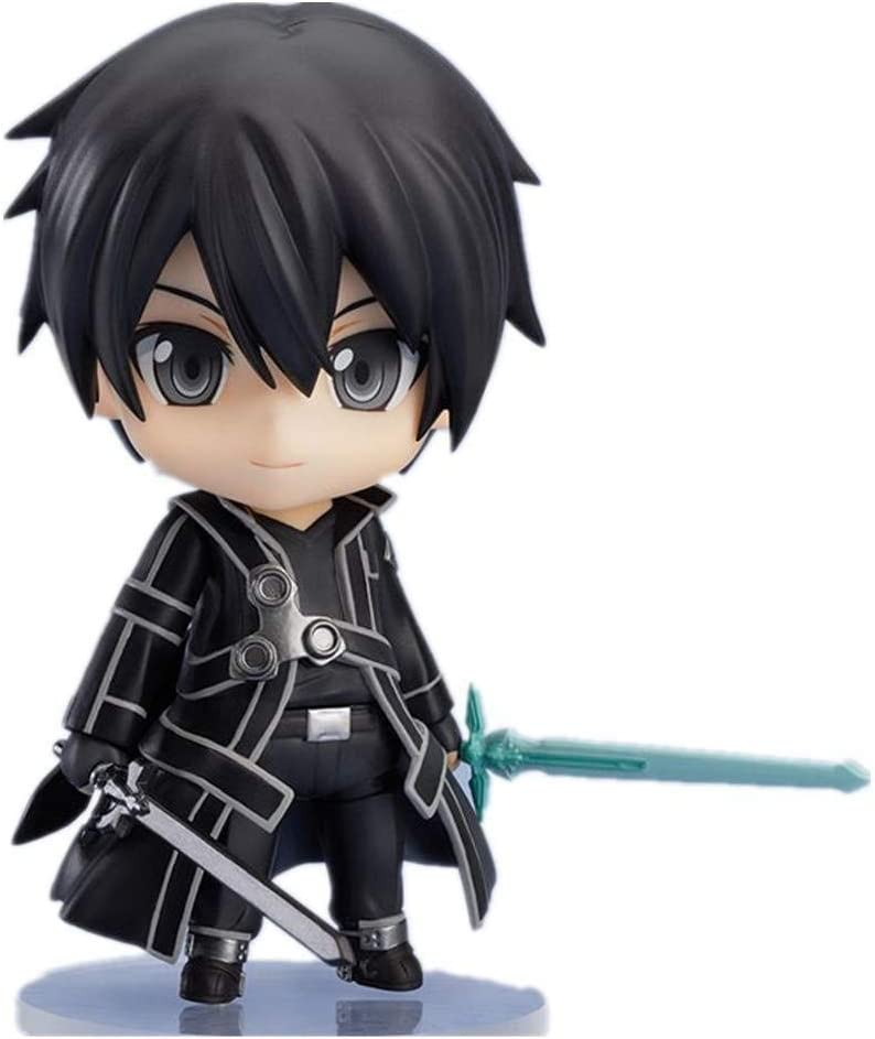 lkw-love Sword Art Online Figura Kirito Figura Chibi Anime Figura Figura de acción