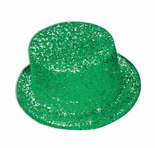 Hat Glitter Green Deluxe Accessory