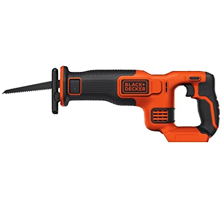 7. BLACK+DECKER BDCR20B 20V MAX Lithium Reciprocating Saw - Battery and Charger Not Included