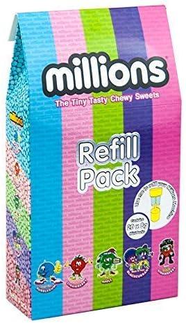 B-Creative Mini Millions Machine - Dispensador de dulces - Paquete de recambio