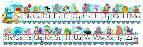 Carson Dellosa Alphabet Train Bulletin Board Set (1787) ()