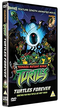 Teenage Mutant Ninja Turtles: Turtles Forever DVD 2009 Reino ...