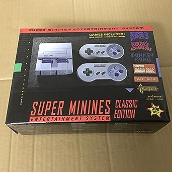 ac36a2c14358 Super NES Mini Retro Video Game Console Entertainment System Built-in 500  Classic NES Games  nintendo entertainment system  Computer and Video Games  ...